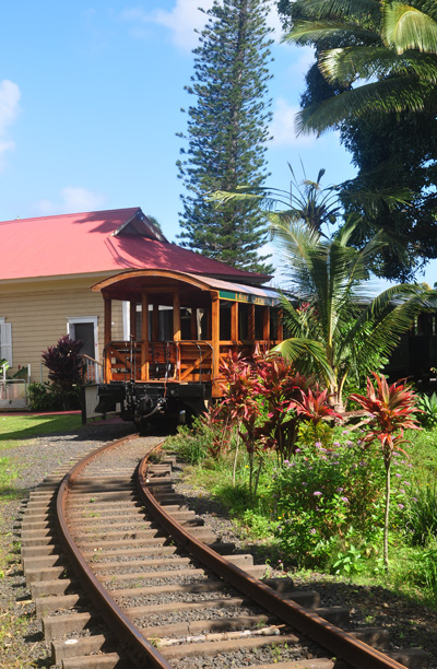 train station kilohana kauai photo by ray gordon