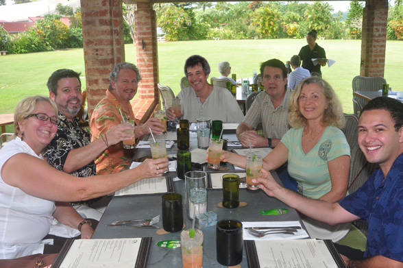 kauaitweetup kauai tweetup at 22 degrees north restaurant