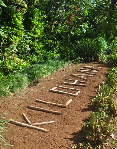 kilohana garden sign kilohana plantation lihue, kauai, hawaii