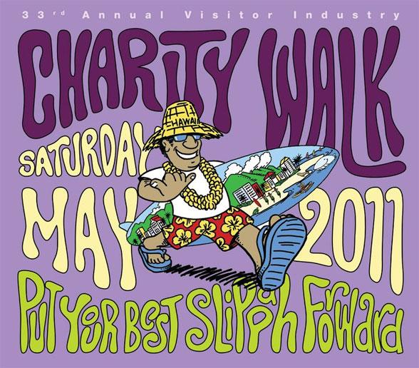 Kauai Charity Walk May 14
