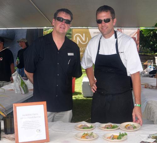 22 Degrees North Restaurant at Taste of Hawaii
