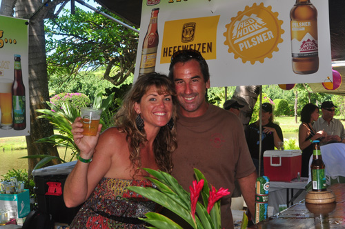 Kona Brewing Company at Taste of Hawaii - photo by Ray Gordon