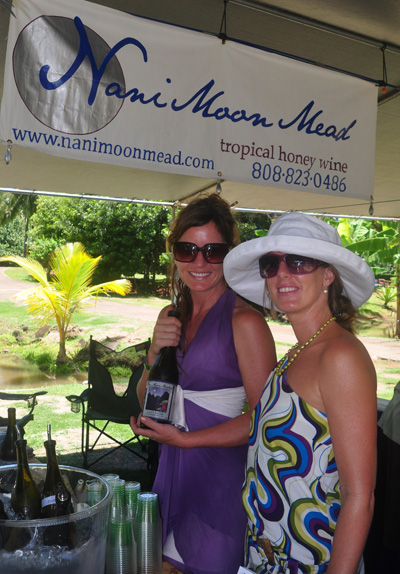Nani Moon Mead at Taste of Hawaii