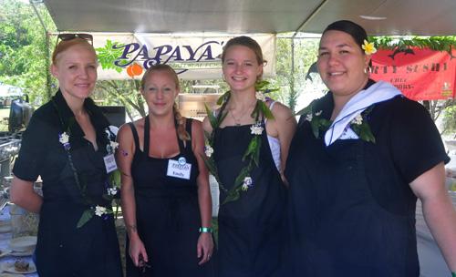 Papaya at Taste of Hawaii