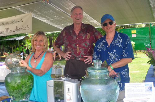 Alchemy of Aloha Water Ionization at Taste of Hawaii