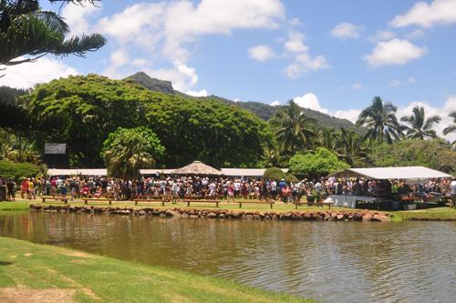 Taste of Hawaii 2011 Site View