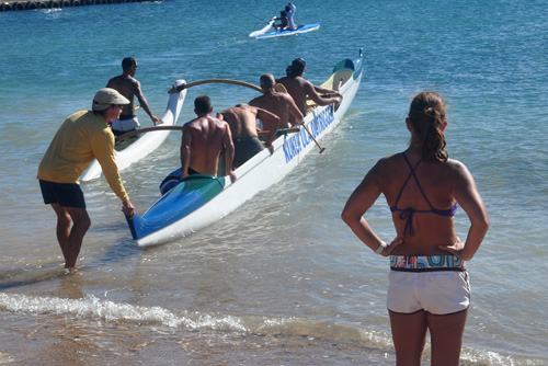 Kukuiula Canoe Launch -Photo by Ray Gordon