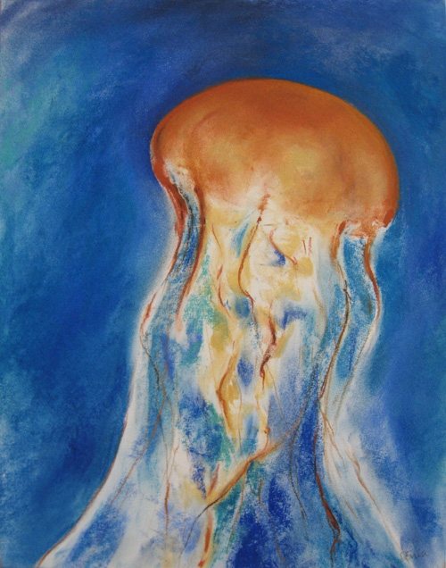 Sea Nettle II by Donia Lilly