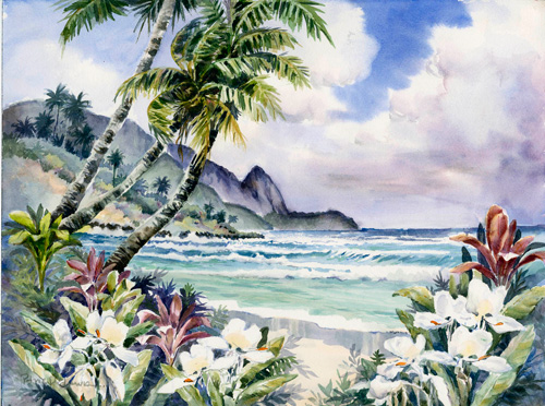 Hanalei Flora by Patrice Pendarvis