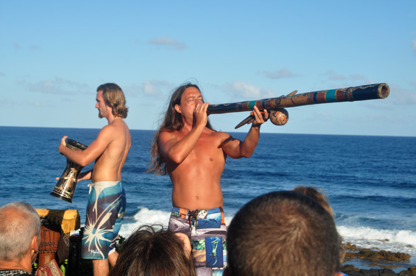 Elijah Ray and John Dumas Celebration of the Whale - photo by Ray Gordon