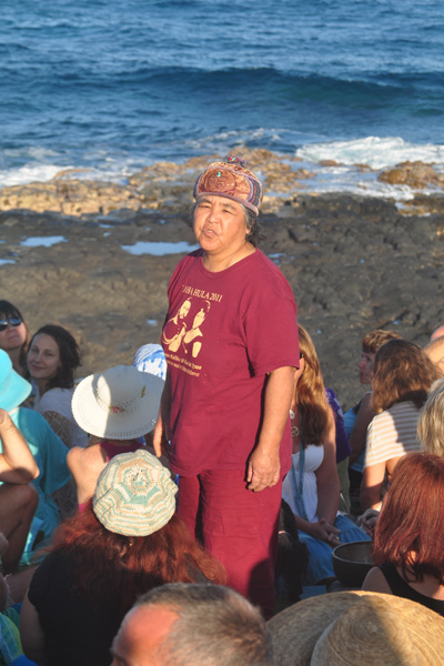 Kimie Sadoyama spoken word poetry for celebration of the whales