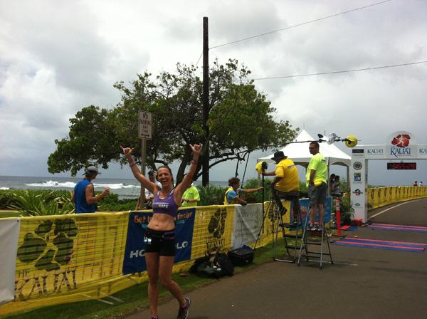 Julie Weiss Marathon Goddess running for pancreatic cancer awareness