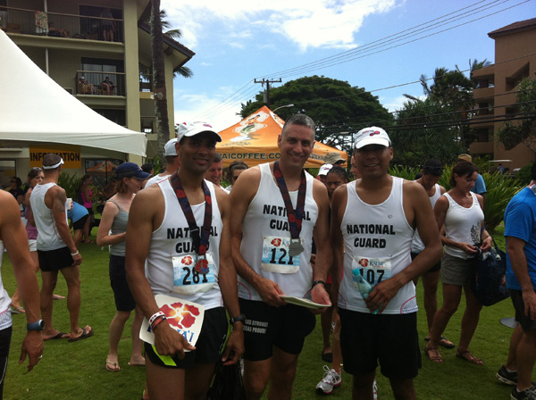 National Guard participated in Kauai Marathon 2012