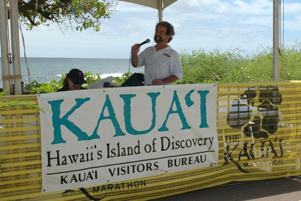 Ron Wiley Kauai Marathon 2012 Announcing Finishers