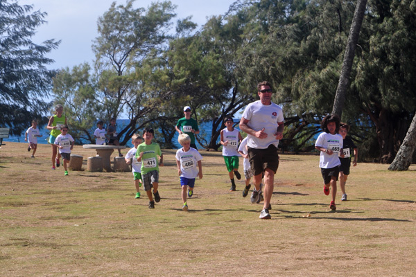 keiki running. photo by Ray Gordon