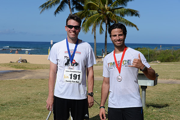 10k men winners photo by Ray Gordon Family Fun Run Koloa Plantation Days