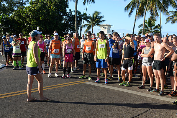 5K runners pre start photo by Ray Gordon Family Fun Run Koloa Plantation Days