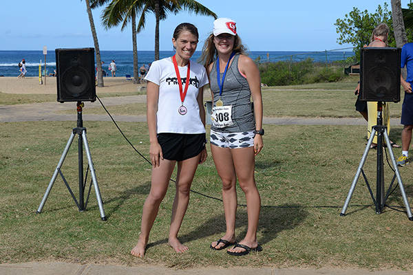 5k women winners photo by Ray Gordon Family Fun Run Koloa Plantation Days