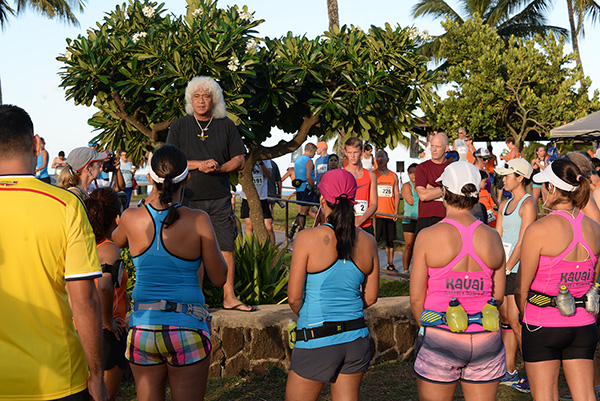 Coco pre-race photo by Ray Gordon Koloa Plantation Days Family Fun Run