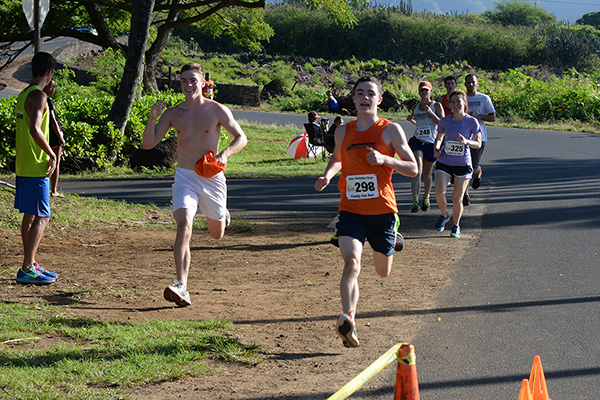 Happy finishers photo by Ray Gordon Family Fun Run Koloa Plantation Days
