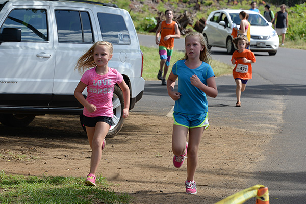 keiki run photo by Ray Gordon Family Fun Run Koloa Plantation Days