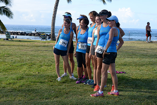 Club girls photo by Ray Gordon Family Fun Run Koloa Plantation Days