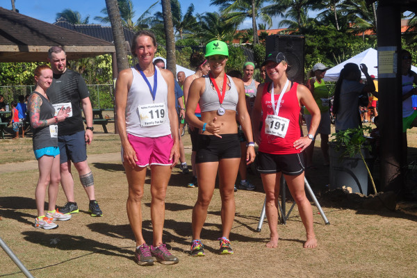 Awards given out at Koloa Plantation Days Family Fun Run 2013