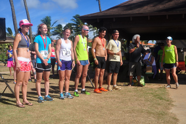 Top Finishers Koloa Plantation Days Family Fun Run 2013