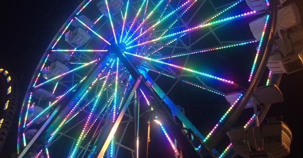 ferris wheel kauai Linda Sherman