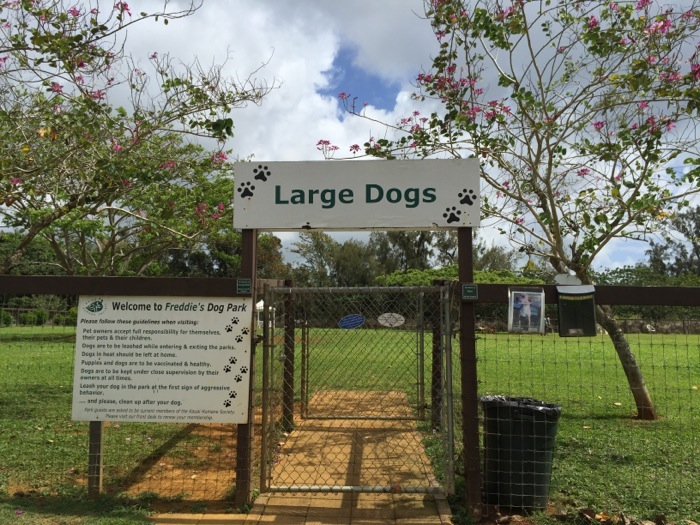 Large Dog Park Humane Society