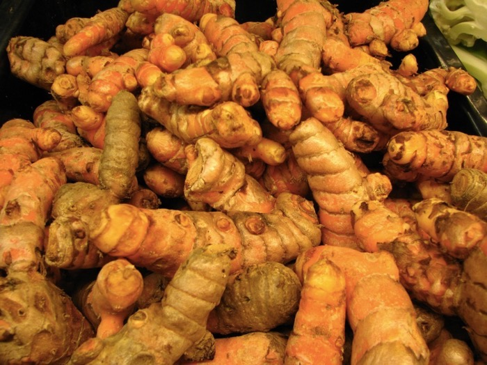 turmeric superfood grows very well on Kauai also mis-spelled tumeric